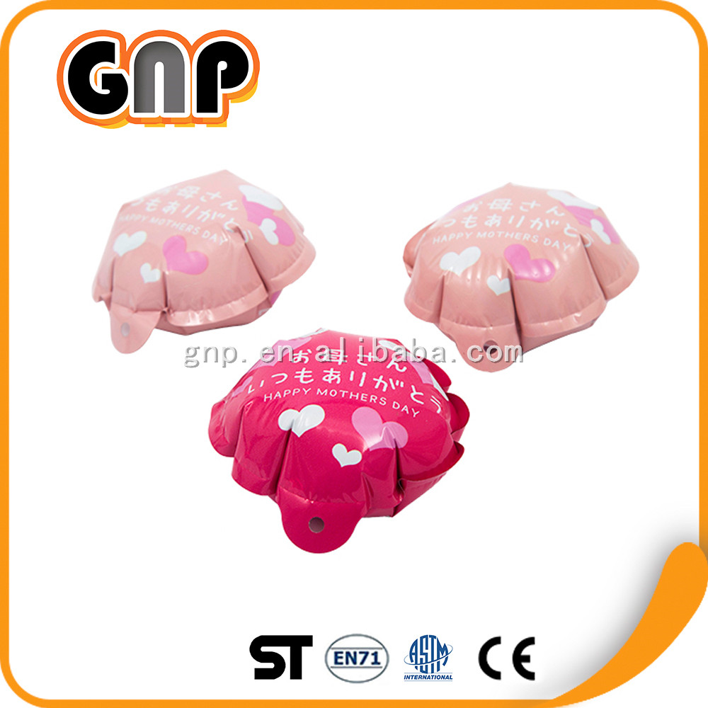 Inflatable happy mother's day Mini round shape self-inflating balloons