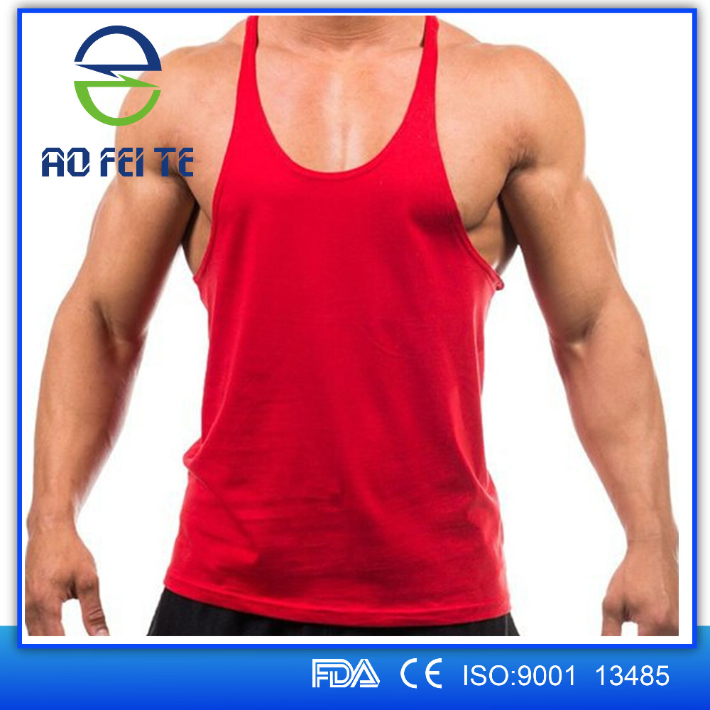 Best Selling Products Men's Workout Apparel Tank Top Gym Clothes Racerback Shirt