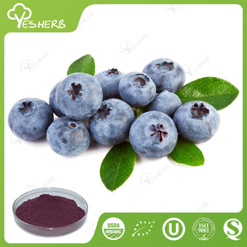 Factory supply organic freeze dried blueberry powder