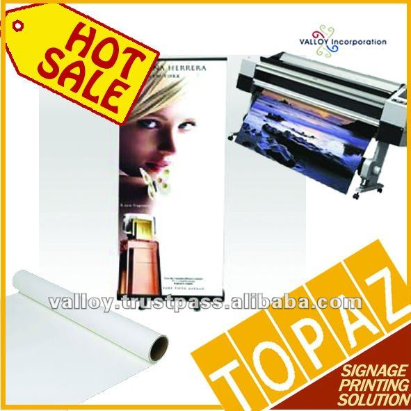 Korea TOPAZ WHITE PET BLOCKOUT MATTE FIM PAPER WATERBASED INKJET MEDIA
