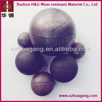 HRC58-65 hardness casting iron ore mill grinding ball