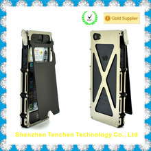 china New Style Metal Transformers Phone Case for iPhone 5S
