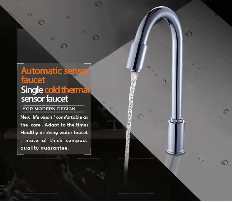 Best Selling Water Taps Kitchen/Bathroom Faucet Temperature Sensor Faucet With Led Light