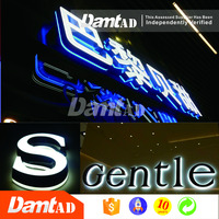 DMT AD high quality custom decorative 3d led letter sign alphabet letter