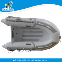 8' to 12' aluminum RIB inflatable boats/PVC/ Hypalon rigid hull inflatable fishing boats