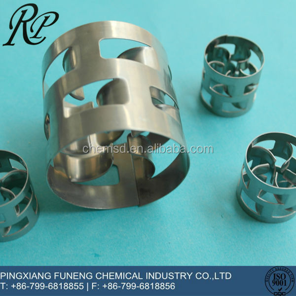 "Stainless steel Metal Pall Ring  3/8"" 1"" 1.5"" 2""   for tower packings adsorption and Stripping Services"