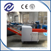 recycling cutting machine used for cut waste clothes making thread