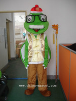 supplier turtle grandfather with glasses and little hat cartoon costume