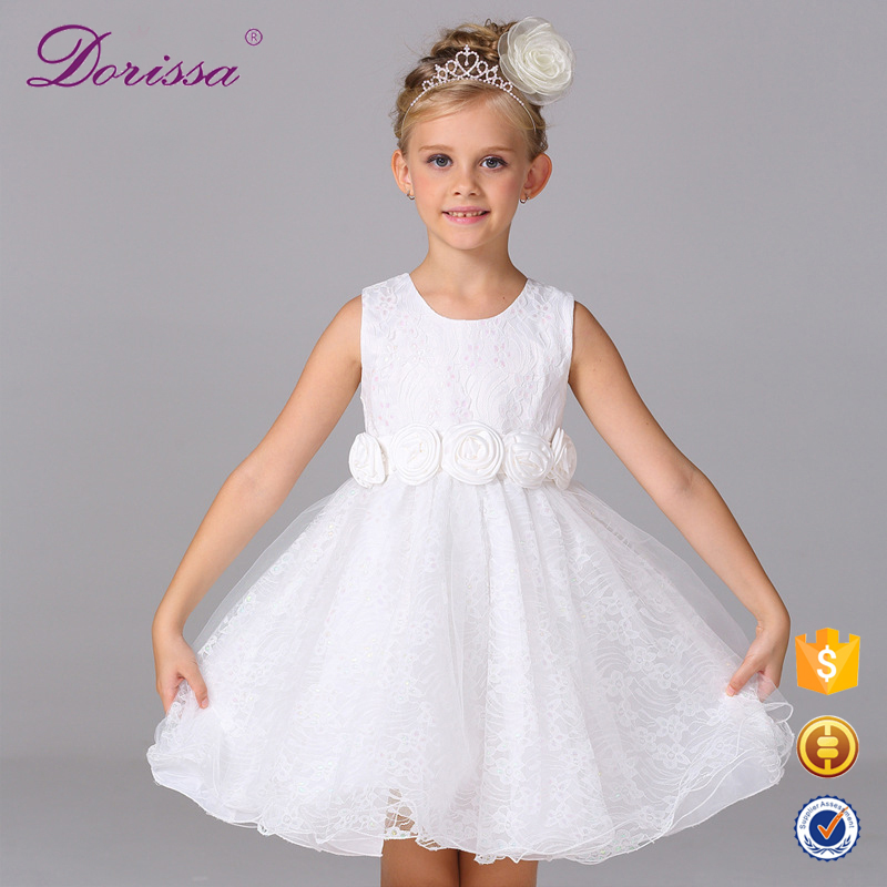 best quality baby clothes wedding party dress kids remake outfits baby flowergirl dress