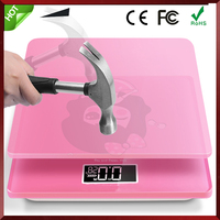 Measures Weight Body Fat Water Bone Mass 400 Lbs Capacity Digital Bathroom Scale