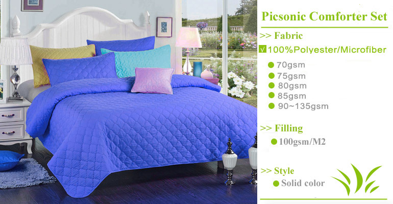 Microfiber fabric quality wholesale comforter sets bedding quilt sheet sets