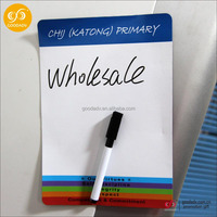 New products custom magnetic whiteboard with dry erase marker pen