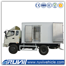 Factory Price 4x2 Refrigerator cargo truck sea food transport refrigearted trucks Food Meat Transportation Cooling Van