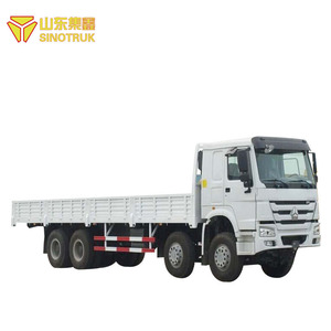 Popular China brand howo sinotruk 8X4 van cargo truck for sale