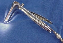 Sims Rectal Speculum with fenestrated blades