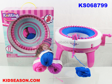 SMART WERVER,DIY SPINNER MACHINE for Scarves, socks, hat,Kidseason high quality toys for Kids