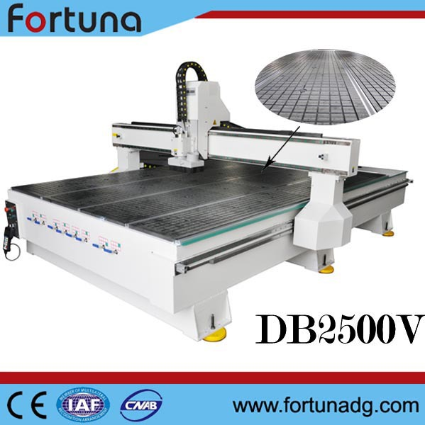 Fortuna DB2500V wood design cnc machine price/cnc router wood carving cnc turning