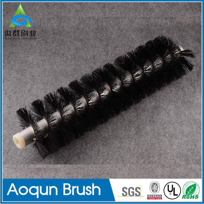 Reusable roller brush industrial cleaning