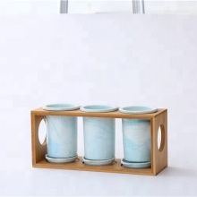 Kitchen ware chopsticks spoon hoder ceramic restaurant decorative utensil holders