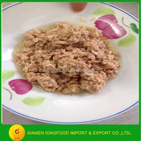 cheap tuna shredded in vegetable oil 170g from Thailand