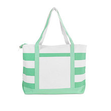 Promotional colorful Cotton Canvas Beach Bag