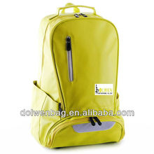 2013 popular sports leather backpack for basketball with pu