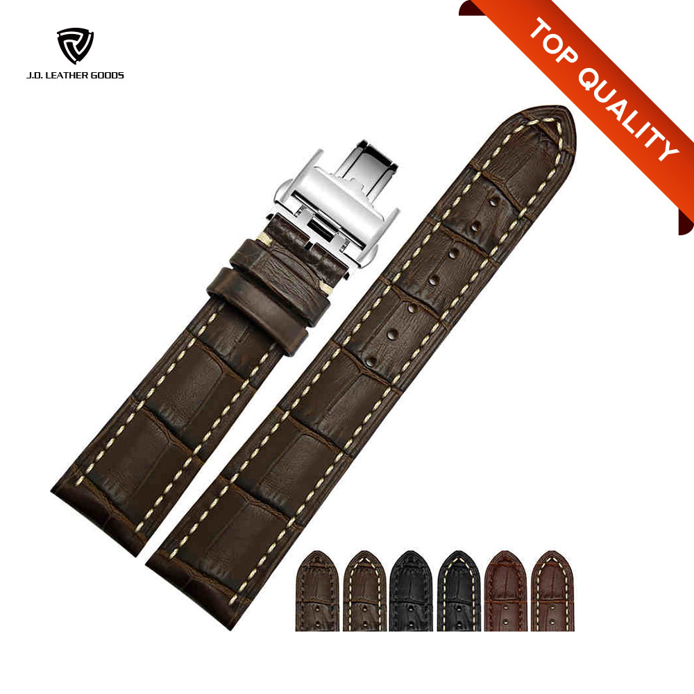 Watch Strap Leather For Crocodile Leather Strap Watch With Leather Strap For Watch