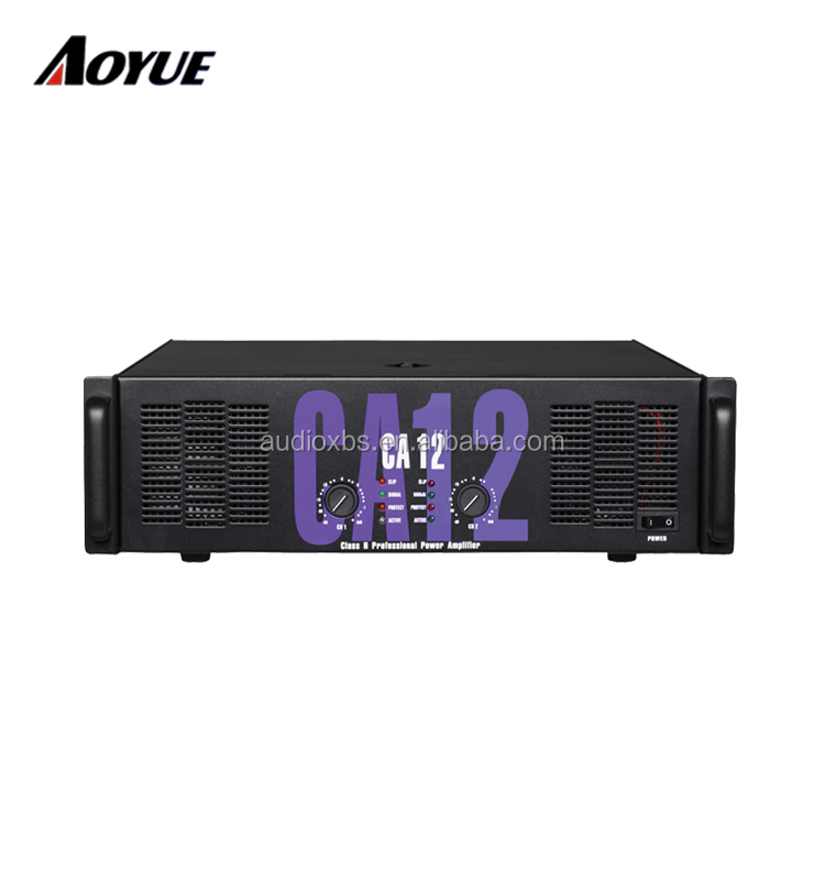CA Series professional power amplifier ca18 800W solid audio amplifier CA12