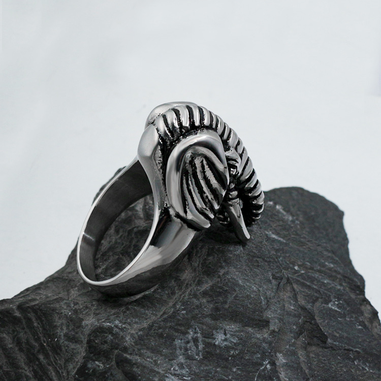 Foreign trade jewelry wholesale, Europe and the United States the new jewelry. Elephants fashion titanium steel ring YSS737