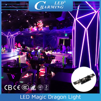 slim led magic dragon bar light for night club, maken any shape by your mind