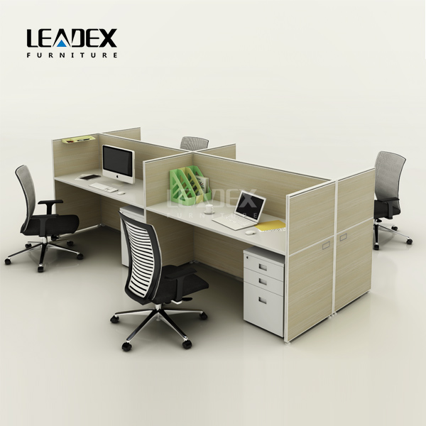 open acrylic office desk steel furniture acrylic 4 person workstation two sided office desk