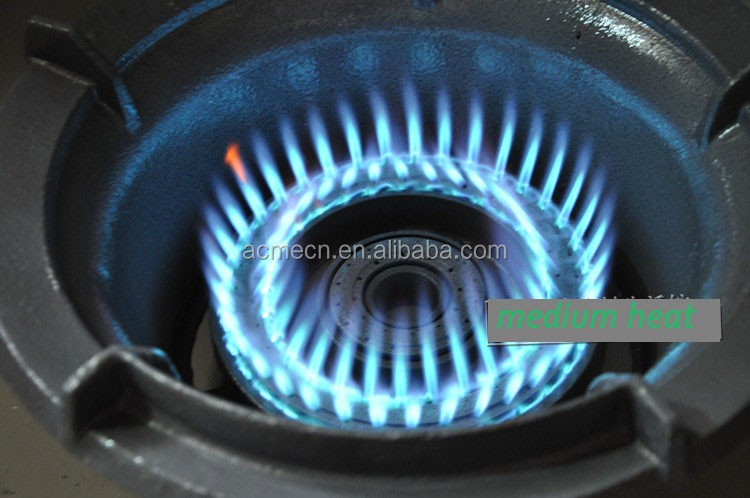 ACME cheap italian style household gas biogas stove indoor