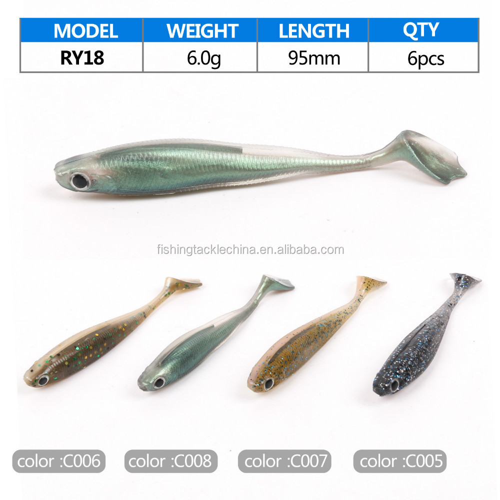 Soft plastic fishing lures wholesale buy soft plastic for Bulk fishing lures
