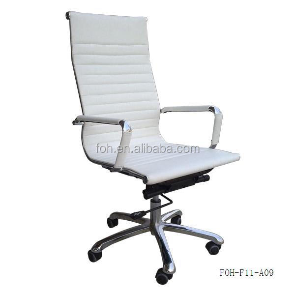 Modern White Ergonomic Leather Pu Meeting Room Furniture Conference Office Ch