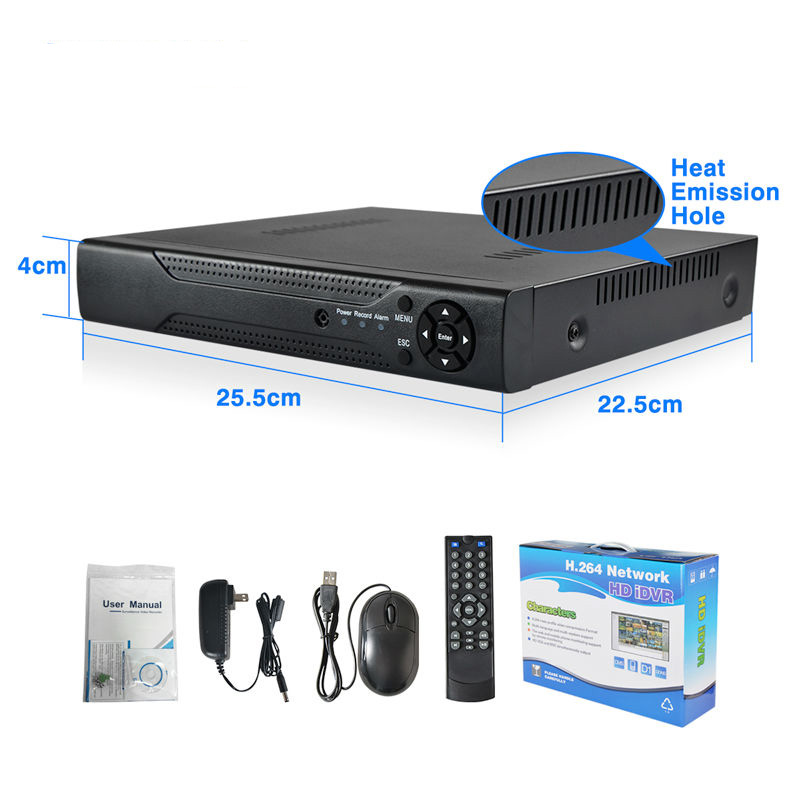 32 Channel 1080P Realtime dvr 8 channel