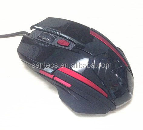 Cheap economic 6D optical gaming mouse with 2400DPI