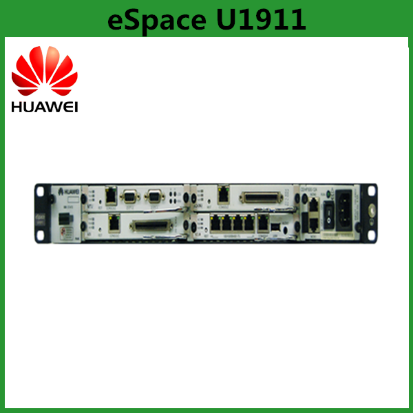 China Supplier Huawei eSpace U1911 IP PBX System With 24 FXO Unified Gateway