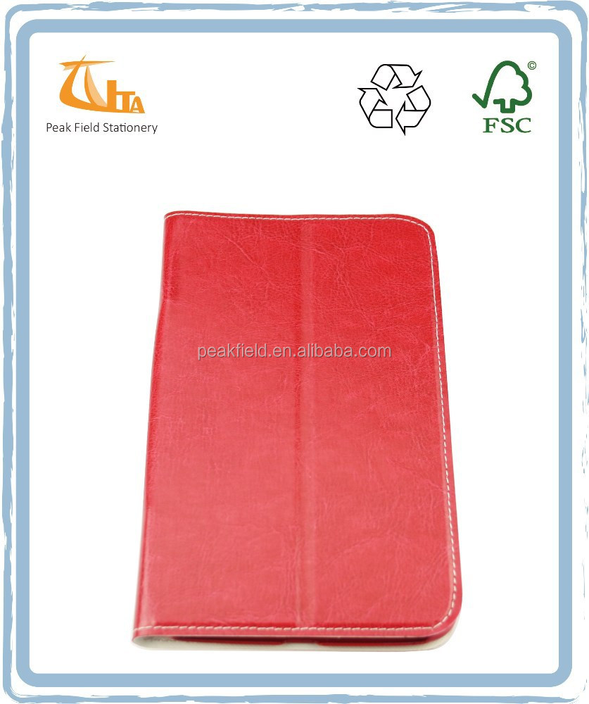 2016 Red Color Laptop Sleeve for 7 inch Tablet Case