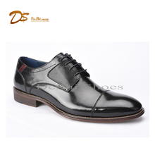 2017 nice italian lace up shoes leather men soft dress shoes