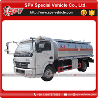 World widely using two axle 9000 Litres capacity China IVECO fuel oil tanker truck