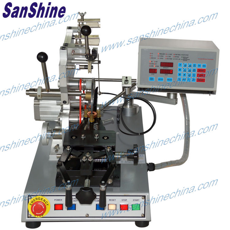 China toroid coil winding machine price