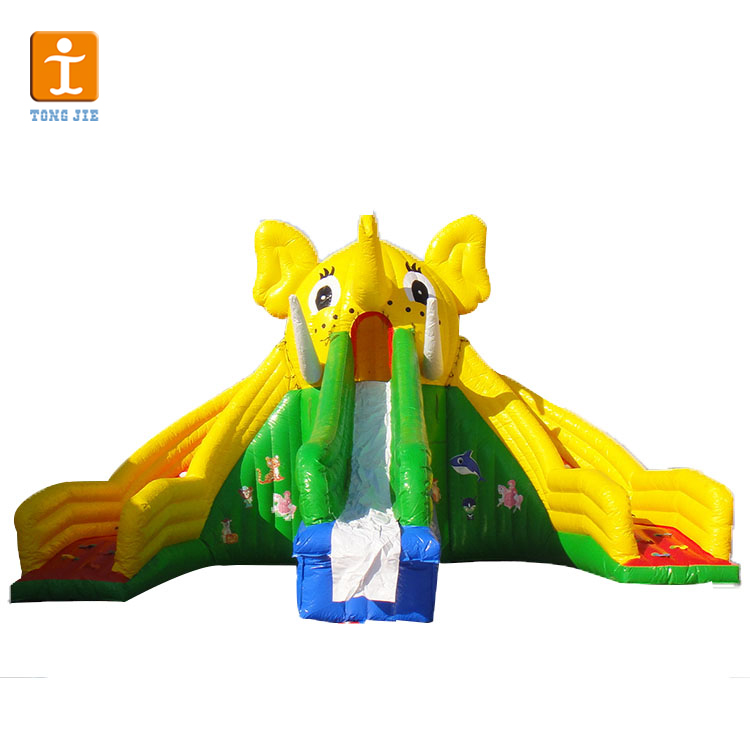 pvc material inflatable jumping slip and slide