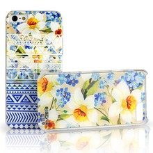 for apple iPhone 5s case for iphone6 plus5.5 cover 4D aztec&flower 100% original bustyle brand