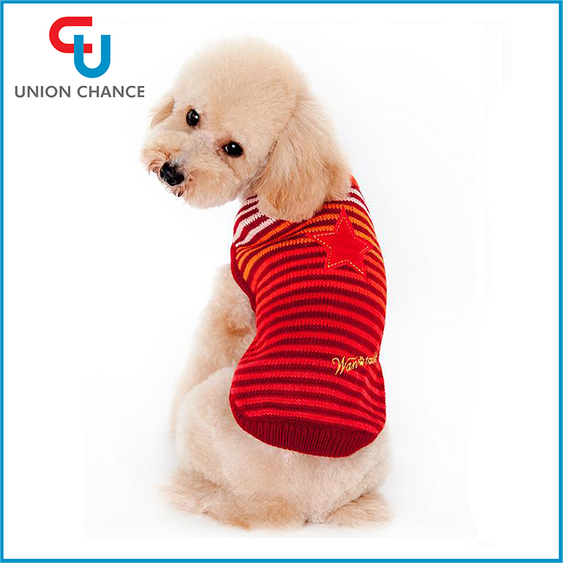 Pog Winter Coat Pet Knitted Sweaters Mix Size Fashion Dog Clothing