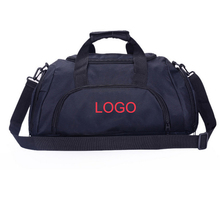 polyester duffel travel bag with compartments
