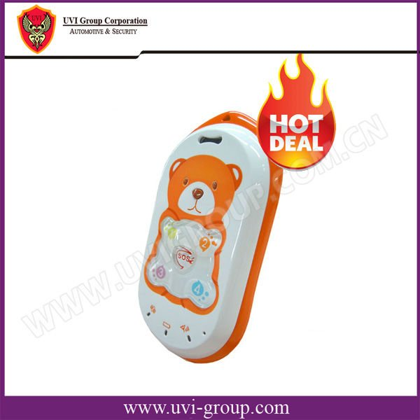 2012 Hot Kids' GPS Tracker with Lovely Cartoon appearance Gps Logger Kids Mobile Phone PT301