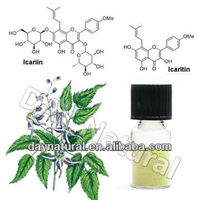 100% Pure & Natural improve sexual stamina Product / Epimedium Extract Icariin For Sexual Health