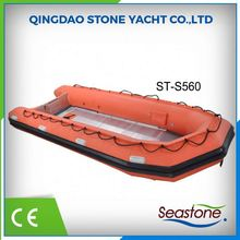 best selling top quality pvc inflatable floating sports boat