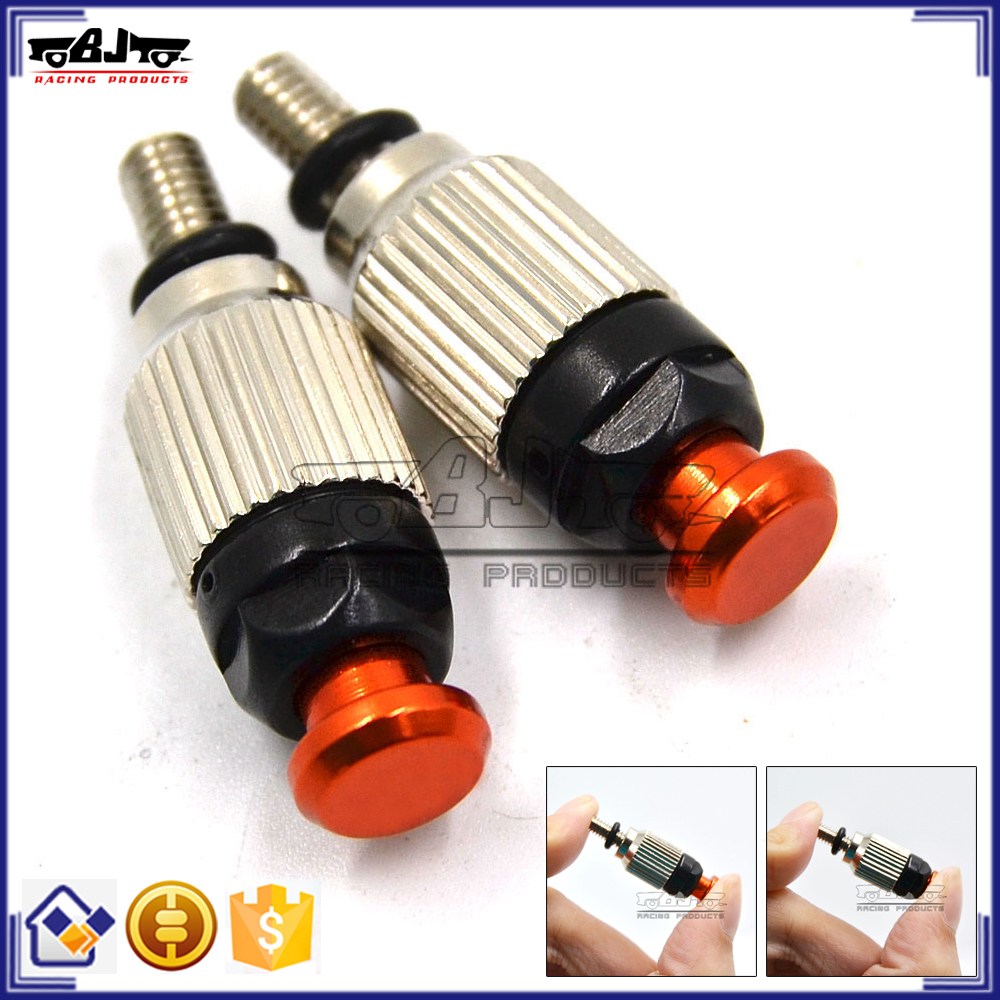 BJ-FBV-002A CNC Aluminum Fork Air Bleeder Valves for KTM with M4x0.8 Front Fork 125 150 200 250 300 350 400 450