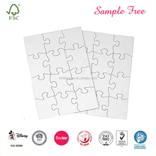 Wholesale Paper Sublimation Blank Jigsaw Puzzle